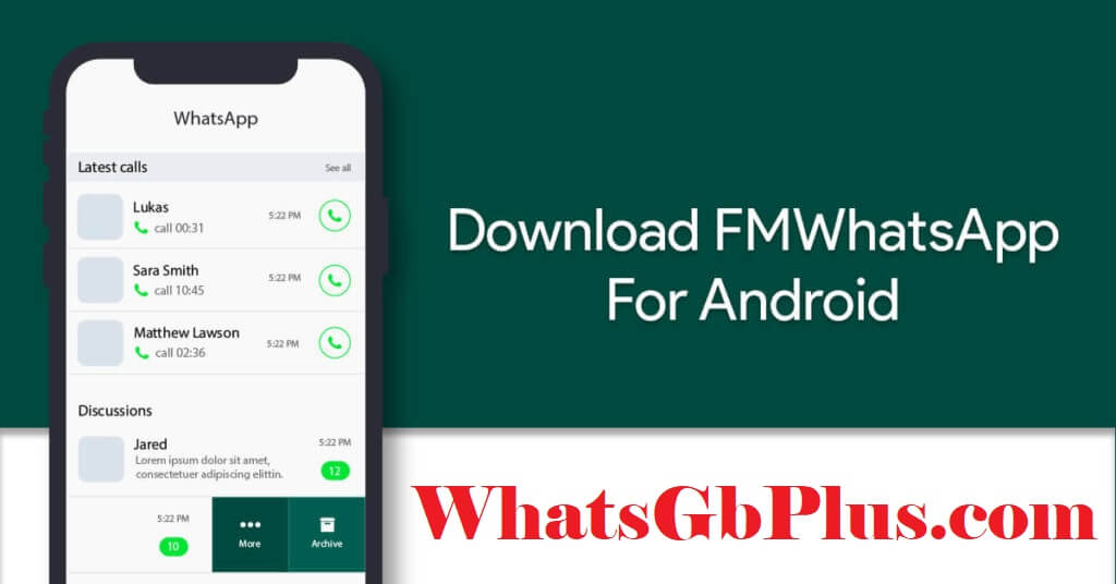 fm gb whatsapp app download apk