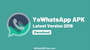 Yo WhatsApp, Yowhatsapp apk