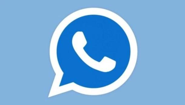 whatsapp blue