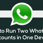 hwo to use two WhatsApp accounts in one phone