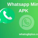 WhatsApp B58 MiNi APK v22 Latest Version Download [Official 2021]